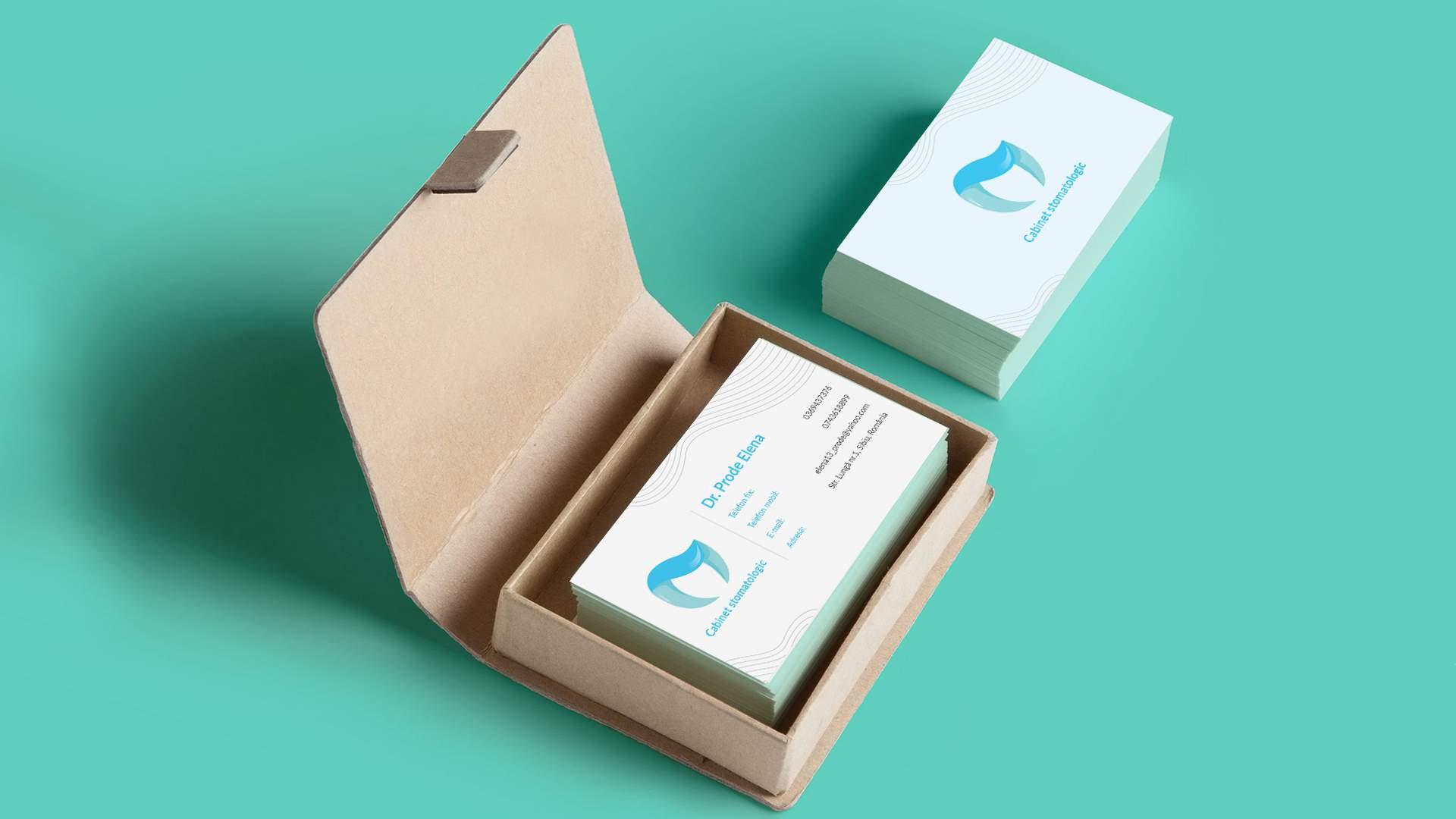 prode-elena-stomatologie-business-card-branding